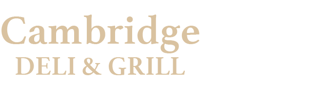 Cambridge Deli & Grill Logo